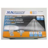 SUNFORCE Triple Head SOLAR Motion Activated Light