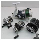 Collection of  (4) Fishing Reels
