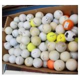 Box of Practice Golf Balls