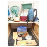 Bargain Lot: Fishing Supplies, Camp Chair,