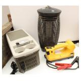 12 Volt Cooler, Battery Jumper, Bug Zapper OK,