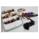 Fishing Flies & PLANO Fly Box