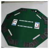 WORLD POKER TOUR Folding Poker Table in Zippered