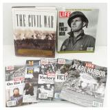Books & Magazines of War, Civil, D-day & more