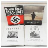 4 War Books, Normandy, Islands of Hell, more