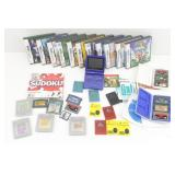 Game Boy Player w/games, Nintendo DS games