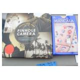 Pin Hole Camera, Mancala Game