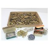 Empty Brass Casings, .22 Shells & More