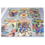 (6) Amazing Spider-Man #202,204,205,206,208,209