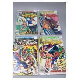 (4) The Amazing Spider-Man Comic #211,213,214,215