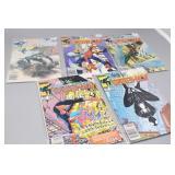 (5) Web of Spider-Man Comics #1,#2, #3, #6, #8