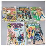 (5) King Annuals Spectacular Spider-Man #1,2,3,4,6