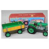 Schylling Collector Series Toy Tractor & Wagon