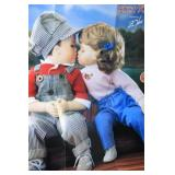 Hamilton Collection-FIRST KISS-Set of Two Dolls