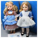 (2) Madame Alexander Classic Series Dolls