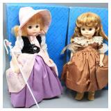 (2) Madame Alexander Dolls- 1980