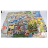 (46) CLASSIC JUNIOR COMIC BOOKS- 1954--1959