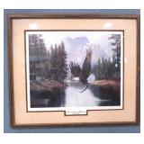 MOUNTAIN MAJESTY Eagle Mountain Print