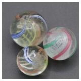 93) Coreless Swirl Marbles