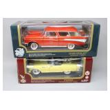 (2) Die-Cast Metal COLLECTION Model Cars