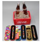 Coca-Cola Lighted Musical Ice Cooler & (3) Pens