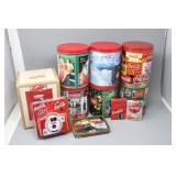 Collection of Coca-Cola PUZZLE TINS, CARDS, Plus..