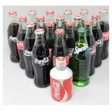 Tin Coca-Cola Bottle-Japan, 17-Coca-Cola Bottles..