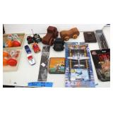 Bargain Lot: Hot Wings, Toy Cars, Leather