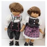 Two Gotz Modell Dolls