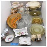 Bargain Lot: Vintage Glassware, Pottery  &
