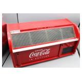 Vintage Red Coca-Cola Plastic Bread Box