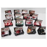 (16) MATCHBOX COKE Collectible Cars with Stands