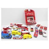 (23) JOHNNY LIGHTNING Coca-Cola Matchbox Cars