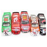 (5) Coca-Cola Die-Cast Stock Car Models
