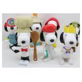 7-Collectible SNOOPY TOYS From McDonalds in EUROPE