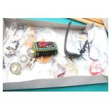 Collection of Eyeglass Holders, Hair Clips, Belts