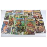 (17) TARZAN DELL Comic Books from the 1950