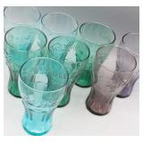 Collection of (8) Coca-Cola 16oz Tall Glasses