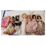 Seven Round The World Dolls