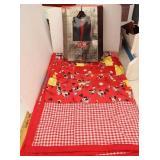 Mickey & Minnie Mouse Blanket & 101 Cruella DeVil