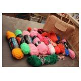 Bargain Lot: Knitting & Bag