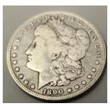 1890 O Morgan Silver Dollar  Good