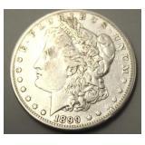 1899 O Morgan Silver Dollar XF