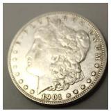 1901 O Morgan Silver Dollar  XF