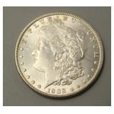 1902 O Morgan Silver Dollar AU