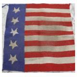 Stars & Stripes Western Saddle Blanket