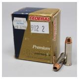 20rds FEDERAL 357 MAGNUM 158gr. Cartridges