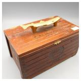 Hand Made EXCALIBUR 1066 Imported CIGAR BOX