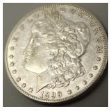 1899 O Morgan Silver Dollar  AU