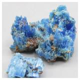 Blue Mineral CHALCANTHITE